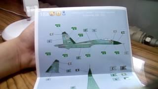 Розпакування су-27 revell 1/144!/Suchoi su-27 flanker revell 1/144!