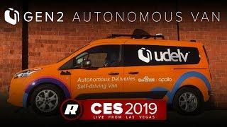 CES 2019: Udelv's self-driving Gen 2 van debuts before trials in Arizona
