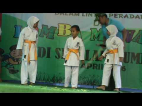 Karate Kelas 1 Sd Islam Bumiayu Lomba Mewarnai Youtube
