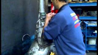 Rebuilding 727 torqueflite 600hp part1