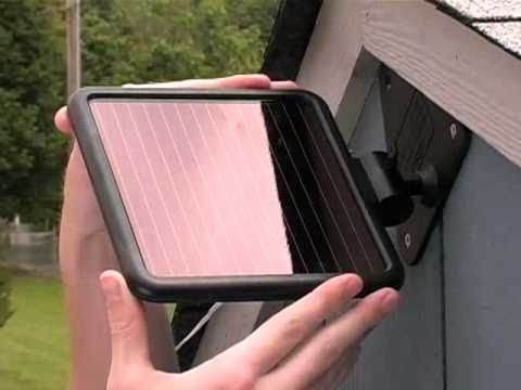 Solar Powered Motion Security Lighting Youtube