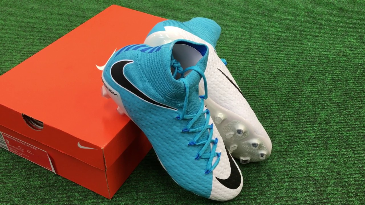 check out b0a17 d261b Nike Hypervenom Phatal III FG Blue White Mbappe 2017 NAS Vancouver BC