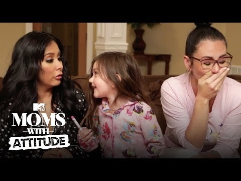 Snooki & JWoww Plan An 'Epic' Sleepover 💤 | Moms with Attitude | MTV