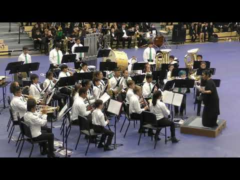 "01 - Aiea Intermediate School Band | ""A Song of Hope"""