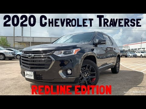 2020 Chevrolet Traverse Redline Edition: Start up & Review ...