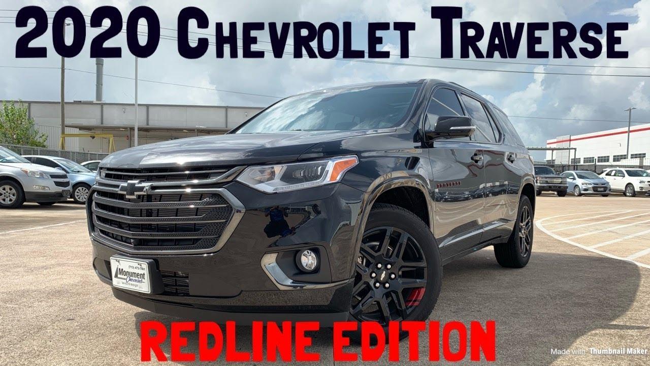 2020 Chevrolet Traverse Redline Edition Start Up Review