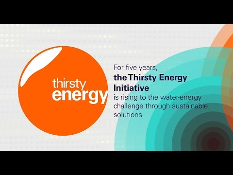 Thirsty Energy Initiative: Water-Smart Energy for a Sustaina