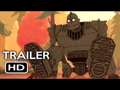 The Iron Giant Remastered Official Trailer #1 (2015)