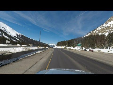 Denver to Salt Lake City via I-70 and US-191/6 and I-15