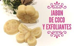 Cómo hacer jabón de coco y exfoliantes con Laucacau