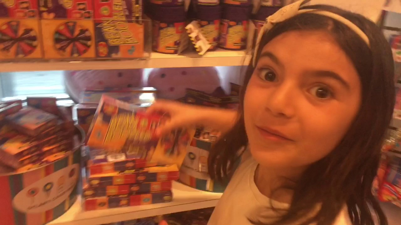 Ella Visits Dylan's Candy Bar in Miami