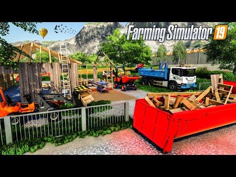 Démolition de Maison (Farming Simulator 19 TRAVAUX PUBLICS)