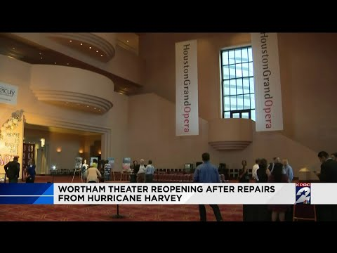 Wortham Theater reopens