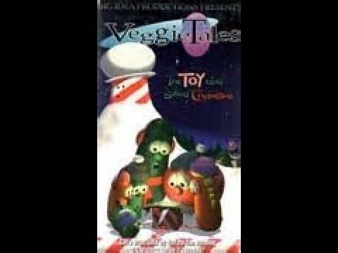 veggietales the toy that saved christmas 1996 old animation - The Toy That Saved Christmas