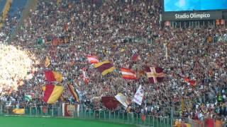 Derby, coro pazzesco Sud: Roma vinci insieme a noi