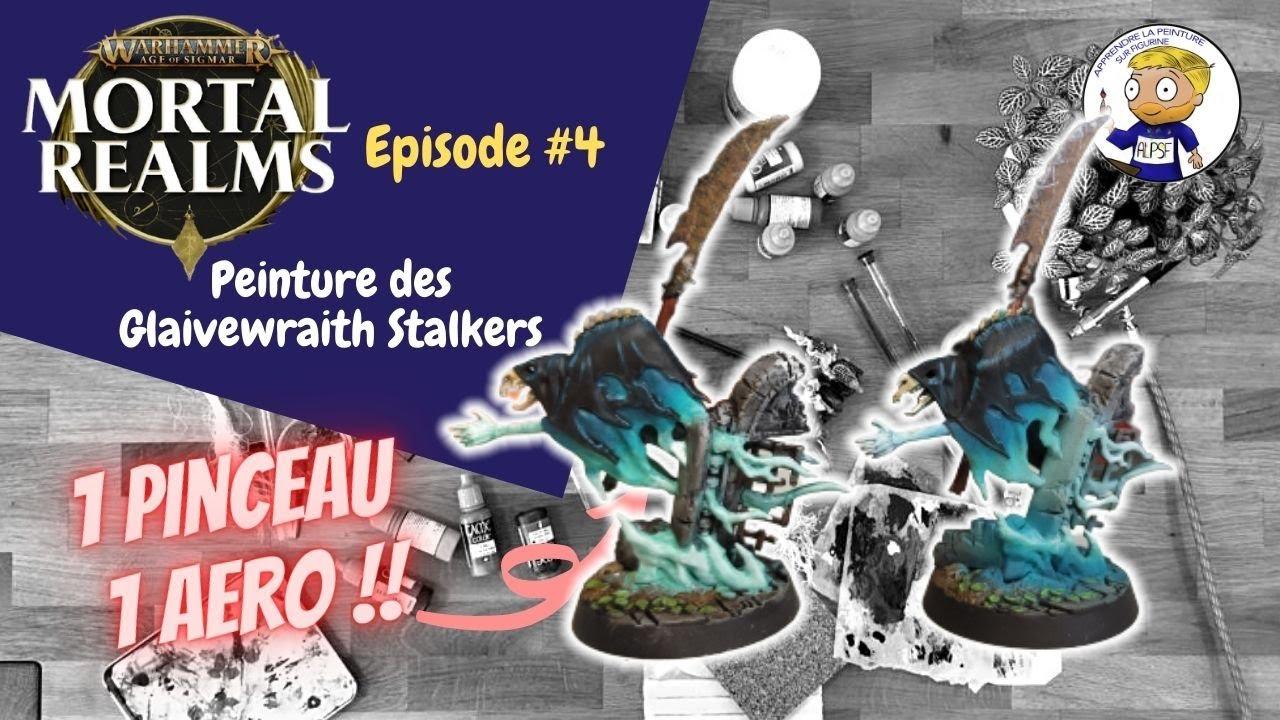 Mortal Realms numéro 4 - peinture d'un glaivewraith stalker - apprendre la peinture sur figurine