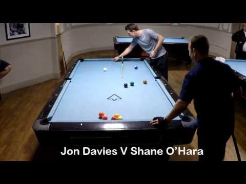 Jon Davies V Shane O'Hara. Allstars Bristol Singles League. October 2016