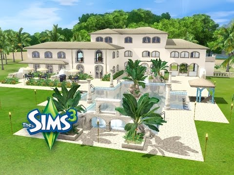 Sims 3 haus bauen let 39 s build villa 39 coloniale for Modernes haus sims 3