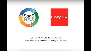 Annual SaaSMAX  CompTIA State of the Channel  for the SaaS Cloud Industry