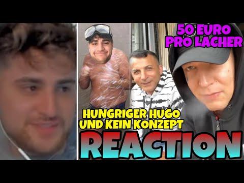 50€ PRO LACHER💰 Eli reagiert auf Hungriger Hugo & Kein Konzept😂 + Eli in Hugos Video👀 | ELIGELLA