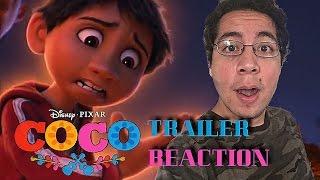 Coco Official US Teaser Trailer Reaction