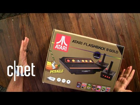 Atari Flashback 8 Gold unboxing
