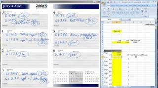 The easiest way to keep a mileage log for tax deductions