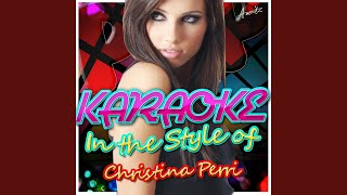 Arms (In the Style of Christina Perri) (Karaoke Version)