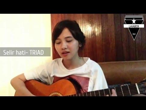 Selir Hati-TRIAD cover by Alzera suaranya lembut