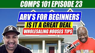 How To Calculate ARV For Free - Comps 101 Eps #23 | Using Zillow And Deaulator To Comp