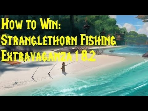 WoW Stranglethorn Fishing Extravaganza: Win & Updates!