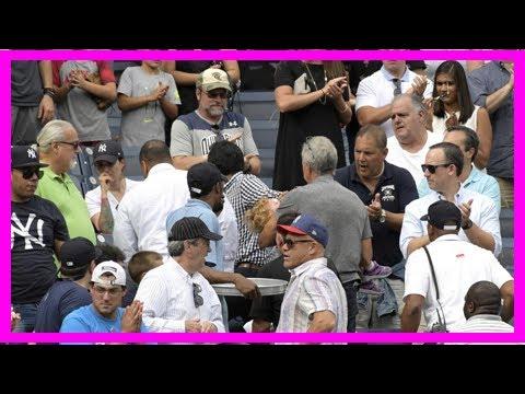 Breaking News Girl Hurt By Ball Foul Ball At Yankee Stadium Still