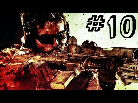Medal of Honor Warfighter Gameplay Walkthrough Part 10 - Bump in the Night - Mission 12
