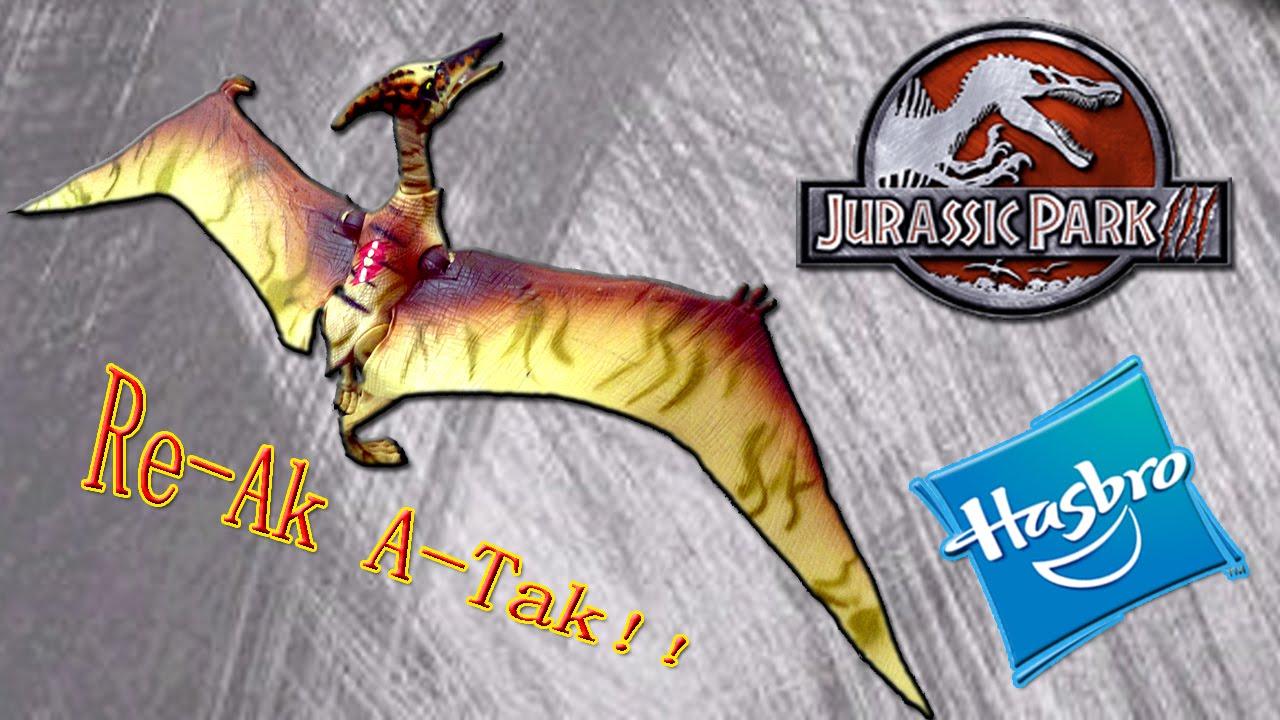 jurassic park toys jp3 pteranodon review youtube