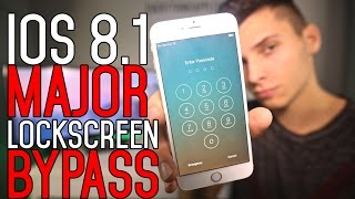 Repeat youtube video NEW How To Bypass iOS 8.1 LockScreen & Access Photos - iPhone, iPad & iPod Touch