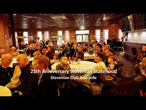 25th Anniversary of Slovenian Statehood - Slovenian Club Adelaide