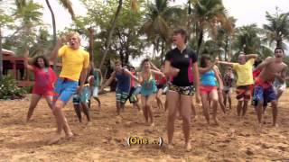 Teen Beach Movie | 'Surf's Up' Sing Along Music Video 🎶 | Disney Channel UK