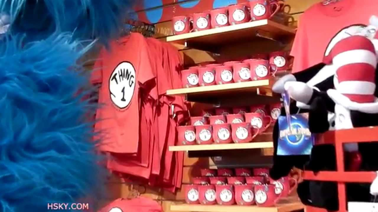 Universal Studios Cat In The Hat Merchandise