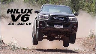 Toyota Hilux GR Sport 4.0 V6 - Test - Matías Antico - TN Autos