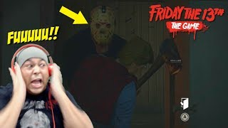 I AM NOT F KING WITH HIM FRIDAY THE 13TH THE GAME