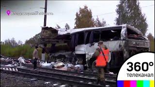 Страшная авария под Владимиром: поезд снес автобус