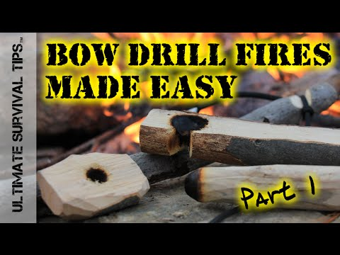 Diy step by step bow drill fires made easy part 1 how to diy step by step bow drill fires made easy part 1 how to make your kit youtube solutioingenieria Images