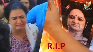 Kalpana sudden death shocks Mollywood | Watch Final Farewell