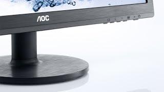 unboxing aoc e2460sh 24 monitor gaming ita