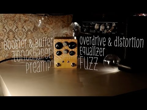 Lateral Phonics | Just a play with Marrakesh Preamp Drive | Vintage console preamp of late 70s