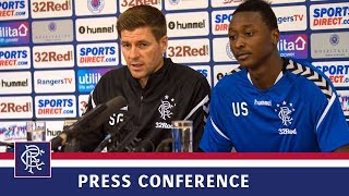 PRESS CONFERENCE | Gerrard and Sadiq | 11 Jul 2018