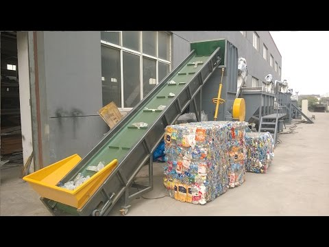 PET Washing Line, PET Bottle Recycling Machine, PET Bottle Washing Plant