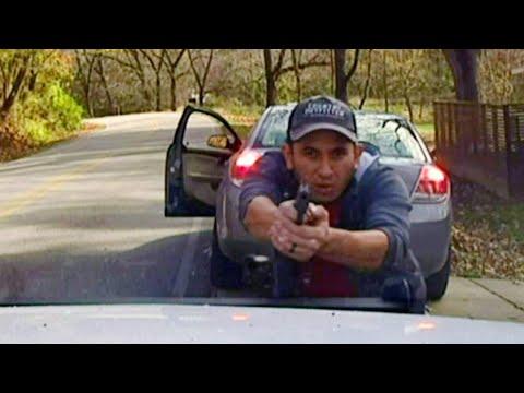 Lance Houston - Routine Traffic Stop Turns into Wild Shootout