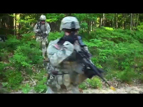 INFANTRY MICHIGAN ARMY NATIONAL GUARD TRAINING 2015