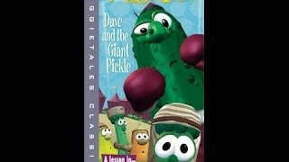 Closing to Veggie Tales Dave and the giant pickle 2004 VHS